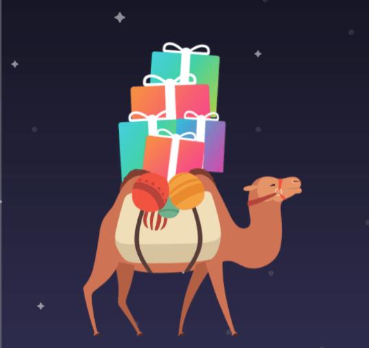 Camello-navidad La Navidad en España